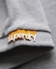 Superdry Twist Yarn Pique Polo Grey