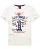 Superdry Real 1 T-shirt Ivory