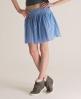 Superdry Sheer Calamity Skirt Blue
