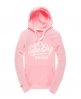 Superdry Ticket Type Hoodie Pink