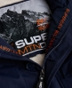 Superdry Military Everest Coat Navy