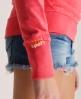 Superdry Lite Hoodie Pink