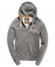 Superdry Primary Zip Hoodie Grey