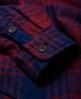 Superdry Milled Flannel skjorte Rød