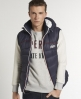 Superdry Retro Sherpa Gilet Navy