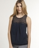 Superdry Peasant Top Navy
