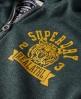 Superdry Wildcats Zip Hoodie Green