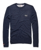 Superdry Ticking Crew Blue