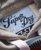 Superdry Seal Hoodie Grey