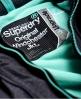 Superdry Cazadora cortaviento con capucha y cremallera Pop Zip Arctic Gris
