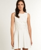 Superdry Erin Skater Dress Cream