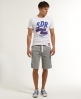 Superdry Classic Circuit Shorts Grey