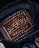 Superdry Applique Hoodie Navy