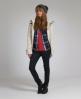 Superdry Super Collar Knit Cream