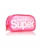 Superdry Micro Heart Neon Bag Pink