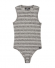 Superdry Stripe Rib Bodysuit Black