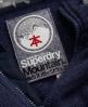Superdry Storm Zip Hoodie Navy