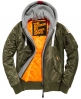 Superdry Real Rookie Flight Bomber Jacket Green
