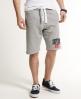 Superdry Classic Appliqué Shorts Grey