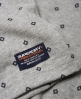 Superdry City All Over Print Jersey Polo Shirt  Light Grey