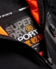 Superdry Gym Tech Panel Zip Hoodie Black
