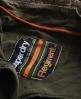 Superdry On Duty Saints Parka Green