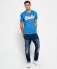 Superdry Camiseta Vintage Logo Duo Colour Azul