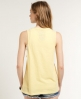 Superdry Low Arm Hole Vest Yellow