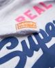 Superdry Vintage Logo Hoodie Light Grey