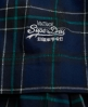Superdry 50s Prom Plaid Dress Navy