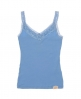 Superdry Lace Rib Vest Top Blue