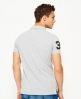 Superdry Classic Short Sleeved Superstate Polo Shirt  Light Grey