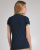 Superdry Tipped Collar Polo Navy