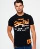 Superdry Shirt Shop Fade T-shirt  Black
