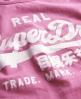 Superdry Vintage Logo Vest Top Pink