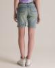 Superdry Skinny Bermuda Shorts Blue