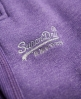 Superdry Slim Fit Joggers Purple