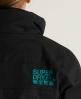 Superdry Pop Zip Windcheater Black