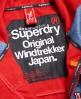 Superdry Giacca a vento con cappuccio Windtrekker  Navy