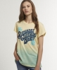 Superdry The Brand Tomboy T-shirt Yellow