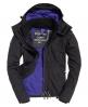 Superdry Veste zippée à capuche Arctic SD-Windcheater Noir