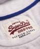Superdry Triple Star T-shirt Light Grey