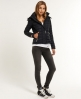 Superdry Fuji Double Zip Jacket Black