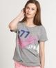 Superdry  Oversized Tee Dark Grey