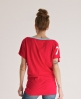 Superdry Burnout Football T-shirt Red