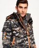 Superdry Ultimate Snow Service Jacke  Grau