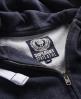 Superdry Premium Nep Zip Hoodie Navy