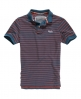 Superdry Thin Stripe Polo Blue