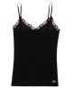 Superdry Essentials Pointelle Cami Top Black