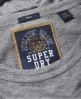 Superdry T-shirt Olivia Collegiate Gris Clair